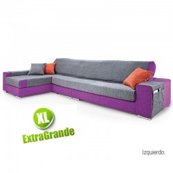 Sofa Case Chaise Longue PAULA XL