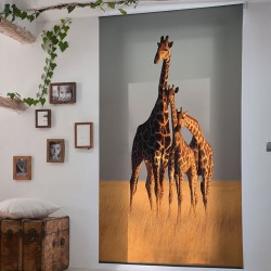 Estor Enrollable Digital JIRAFAS Zebra Textil