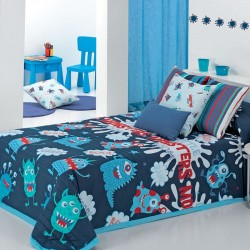 Bedspread Bouti MONSTERS Cañete