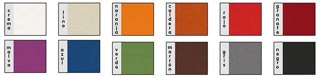 colores foulard